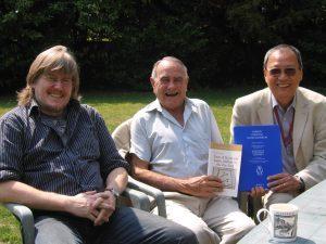 From left to right: Dr Gunner Mikkelsen, Dr John Sheldon, Prof. Sam Lieu