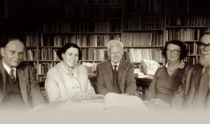 Founding trustees of the Ancient India and Iran Trust