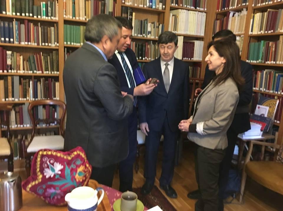 Uzbek delegation