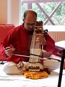 Deepak Paramashivan sarangi concert